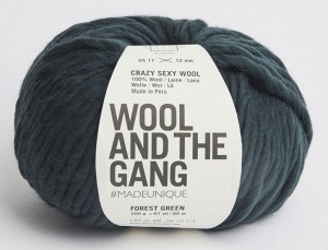 WATG - Crazy Sexy Wool - Forest Green