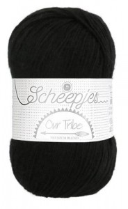 Scheepjes Our Tribe - 881 - Blackberry Black
