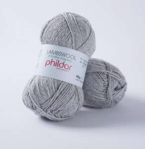 Phildar Lambswool - Szary - Flanelle