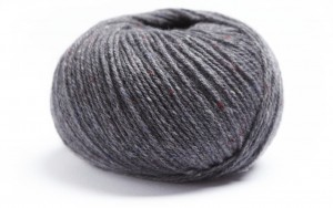 Lamana Como Tweed - slate grey - 28