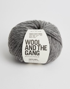 WATG - Crazy Sexy Wool - Tweed Grey