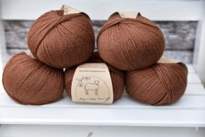Eden Cottage Yarns Milburn 4ply - Rust