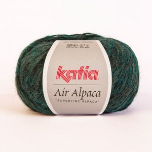 Katia Air Alpaca - zielony opal - 208