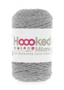 Hoooked Eco Barbante  - Gris - 200g