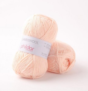 Phildar Lambswool - Pudrowy róż - Poudre