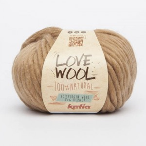 Katia Love Wool - camel - 120