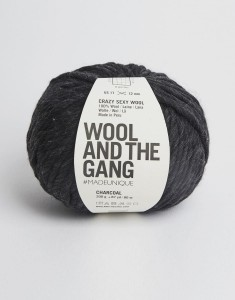 WATG - Crazy Sexy Wool - Charcoal